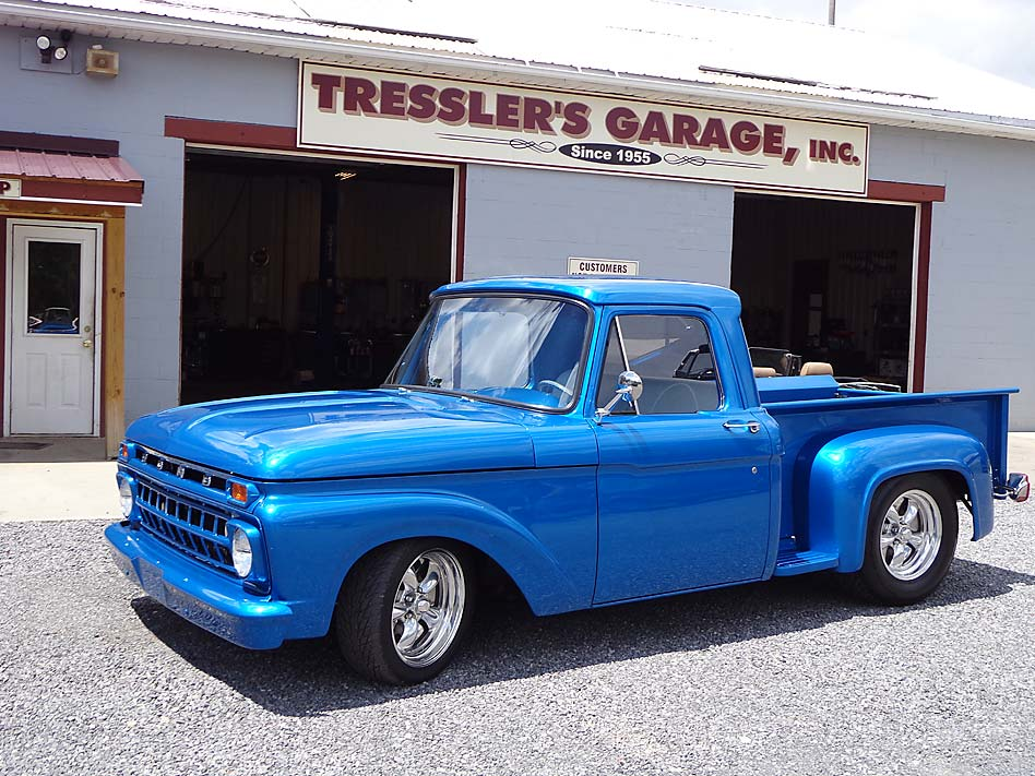 Tresslers garage auto repairs for deep creek lake and for 2 car deep garage